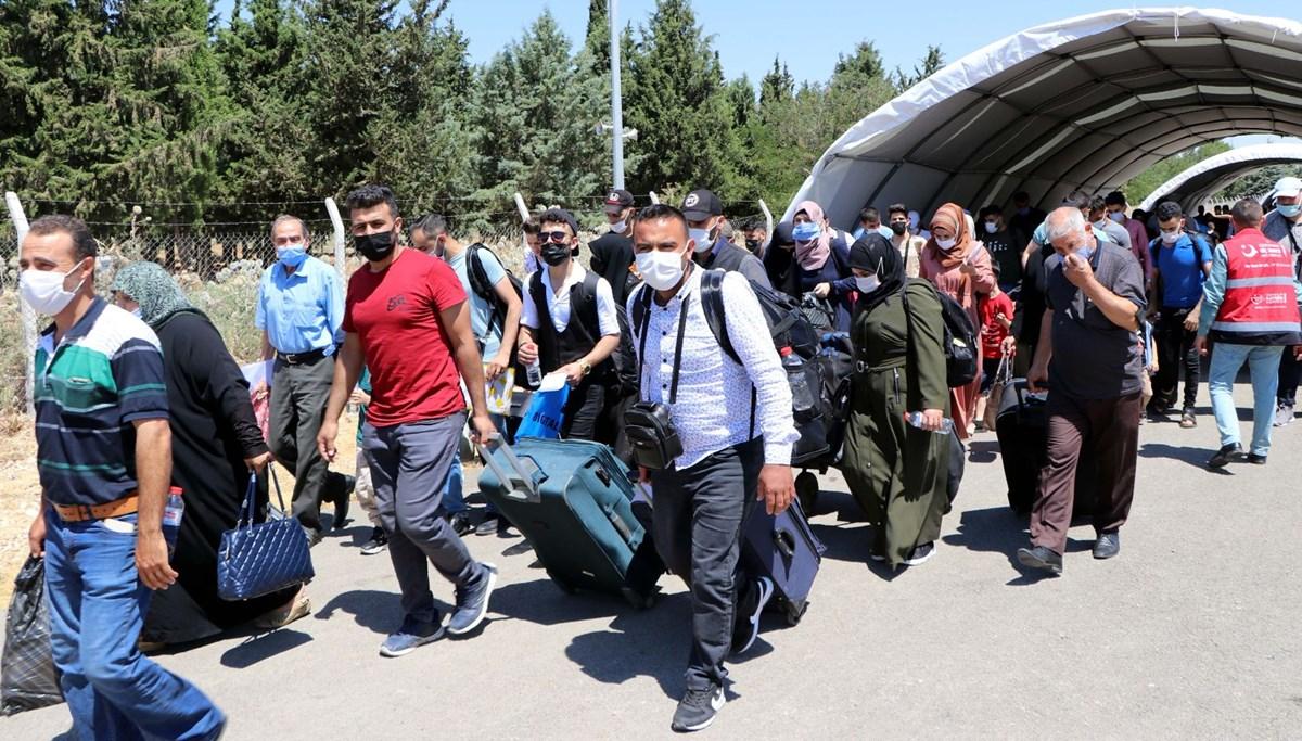 Suriyelilerin bayram göçü sürüyor