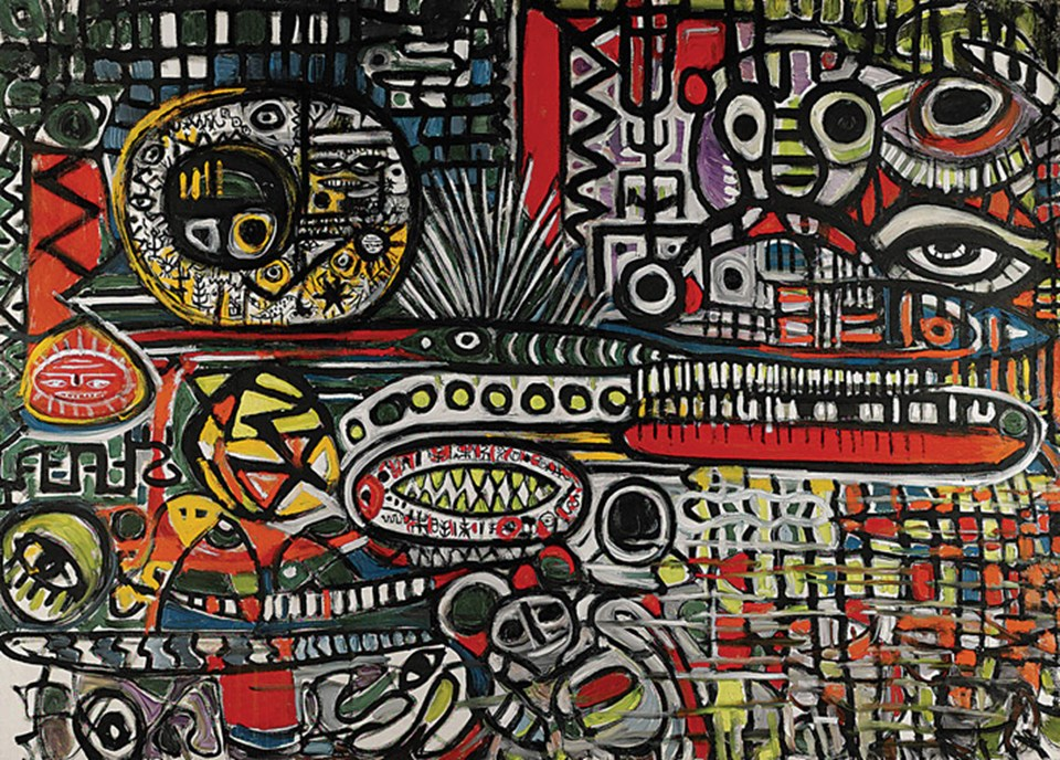 En yüksek fiyatlı tablo Fahrelnissa Zeid'e ait