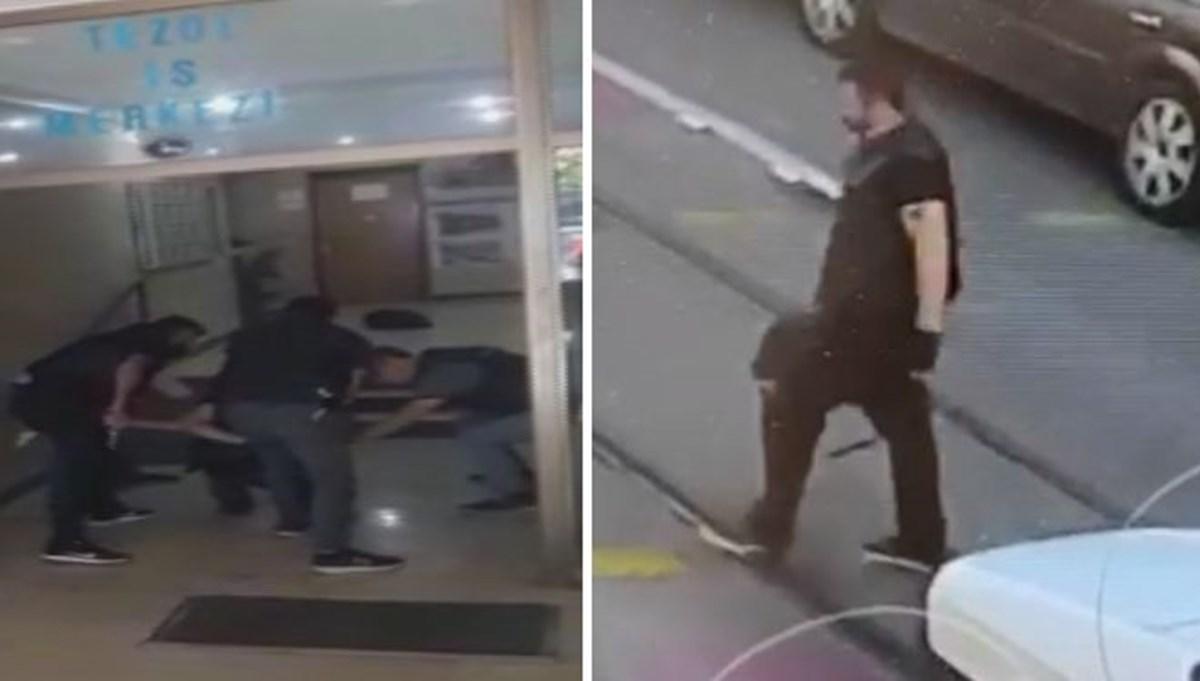 Saldırganın yeni görüntüleri ortaya çıktı (HDP binasında silahlı saldırı)
