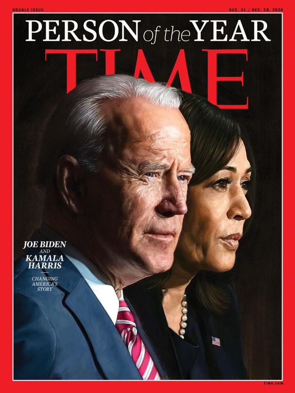"""TIME Dergisi'nin 2020 """"Yılın Kişisi"""" kapağı"""