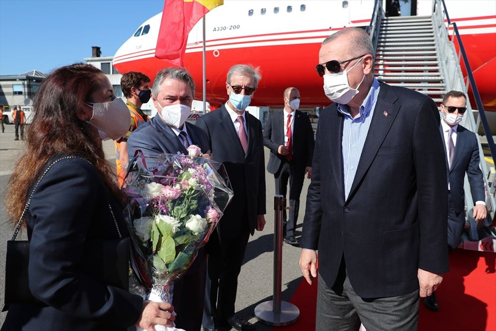 Cumhurbaşkanı Erdoğan Brüksel'de - 2