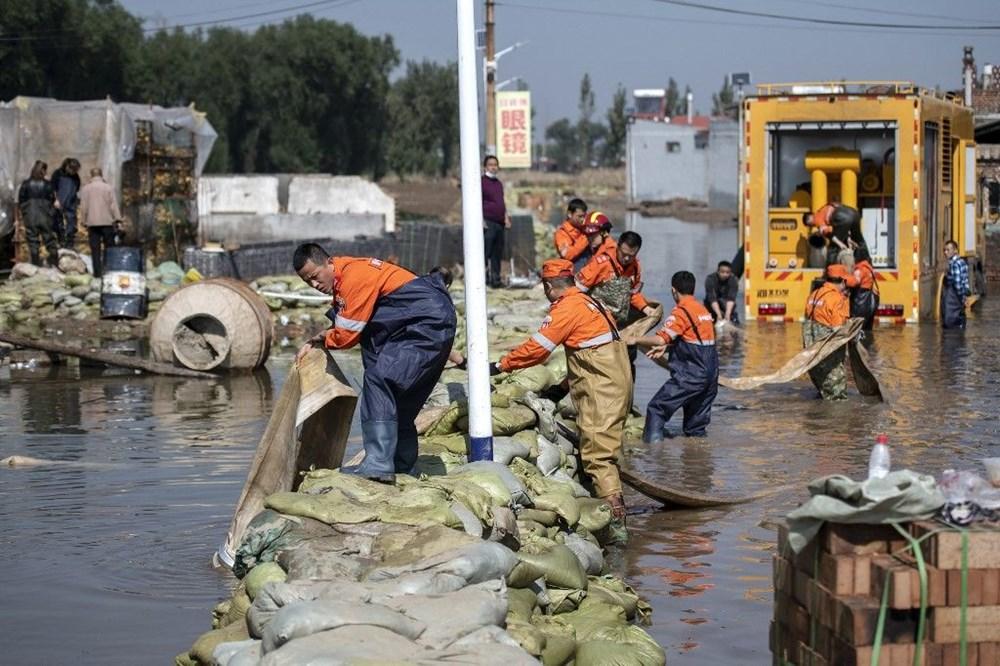 Çin'de sel felaketi: 15 can kaybı - 4
