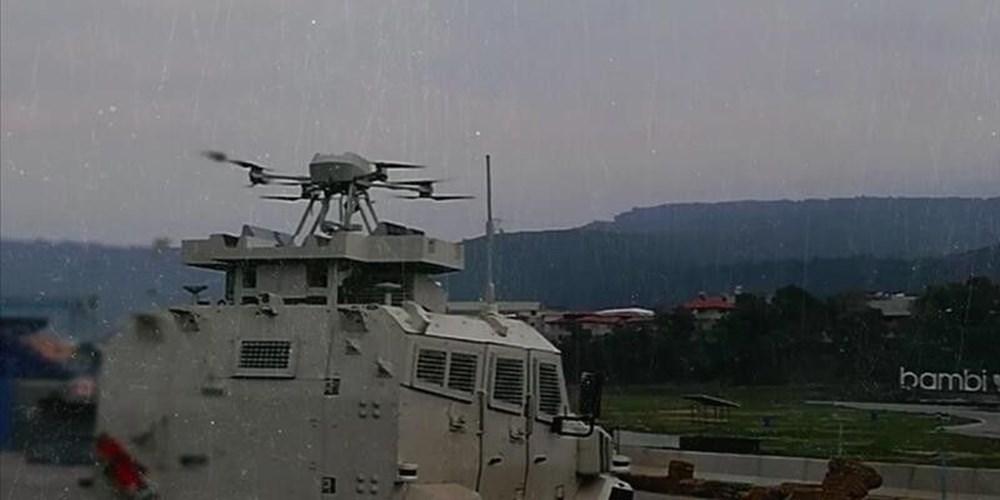 Silahlı drone Songar, askeri kara aracına entegre edildi (Türkiye'nin yeni nesil yerli silahları) - 1
