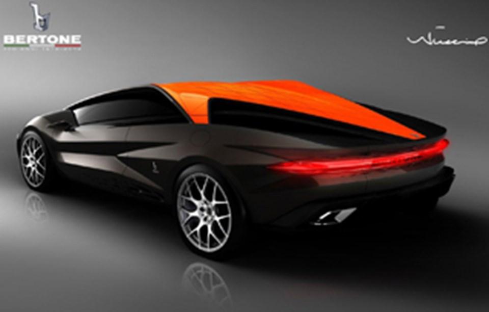 Tek-kutu tasarım konseptte profilden bakıldığında, aracın burnundan başlayan hat A sütunları boyunca devam ediyor.