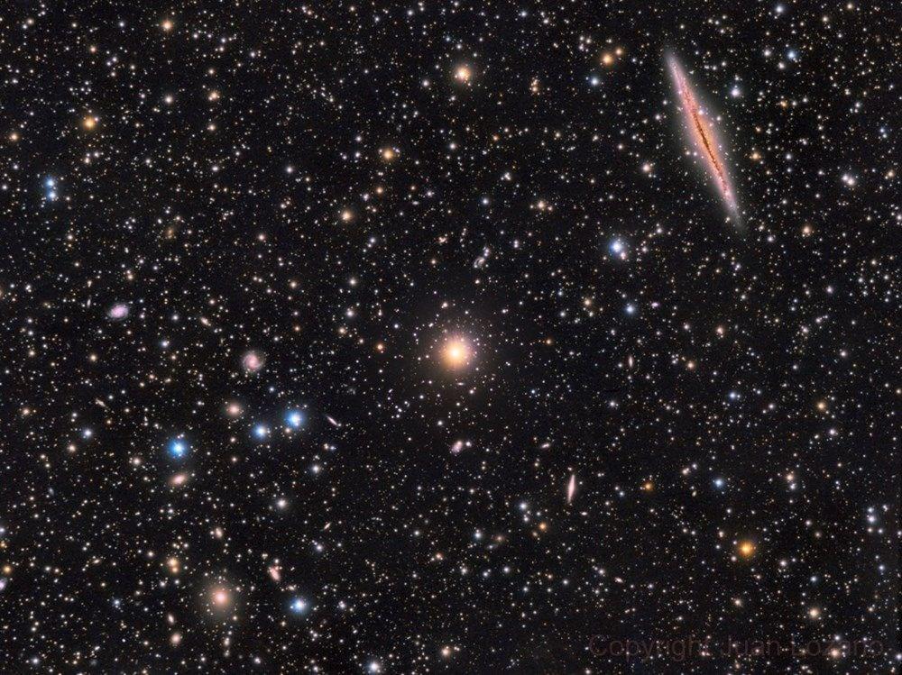 NASA, 250 yıl önce keşfedilen galaksinin fotoğrafını paylaştı: 150 milyon ışık yılı uzaklıkta - 8