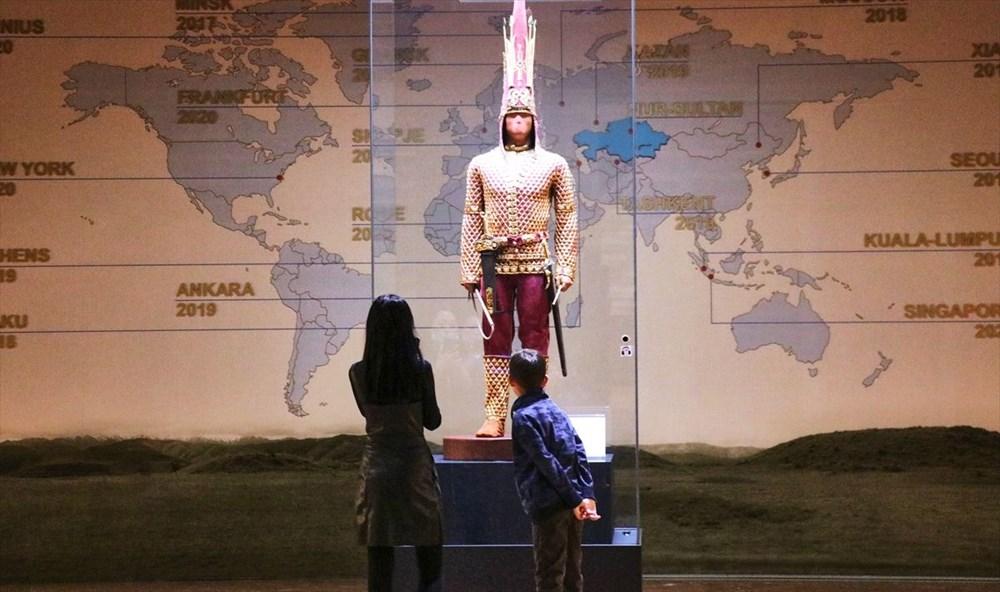 200 bine yakın tarihi eser Kazakistan Milli Müzesi'nde - 4