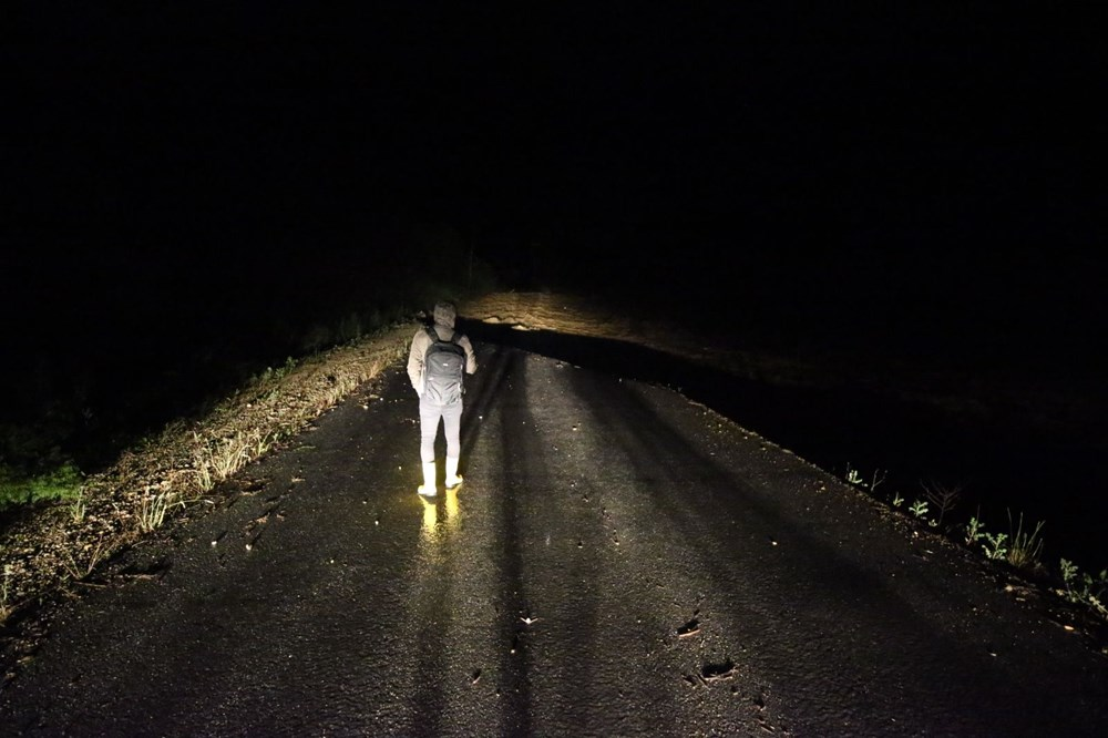 Düzce'de dere taştı, yol çöktü: Kentte sağanak etkili oldu - 7