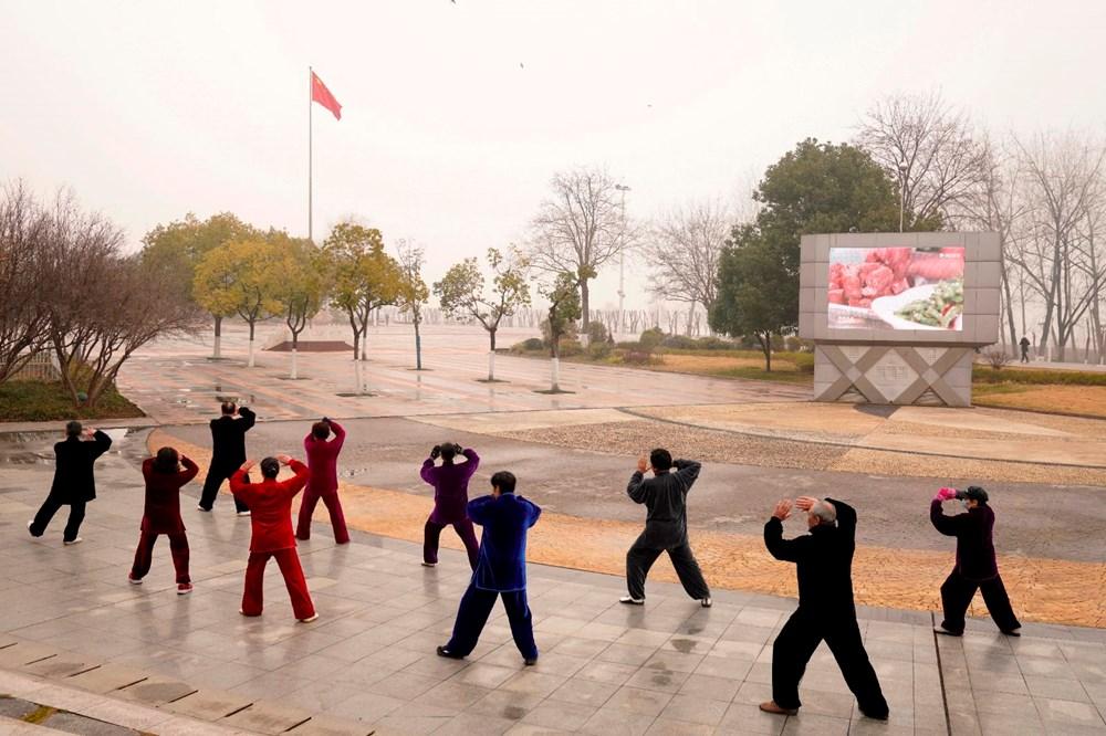 Wuhan'da salgından eser yok: Sıkı karantinanın yıldönümü - 16