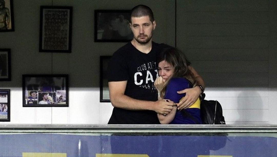 Diego Maradona'nın kızı Dalma Maradona'nın gözyaşları: Orada beni bekle