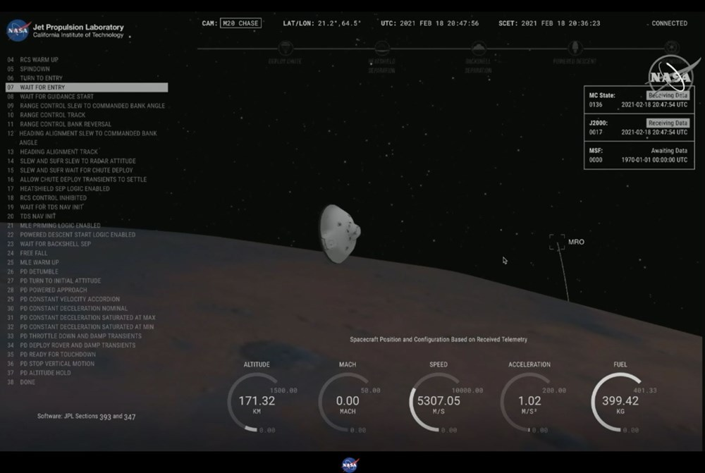 NASA, Mars'tan yeni fotoğraflar paylaştı - 6