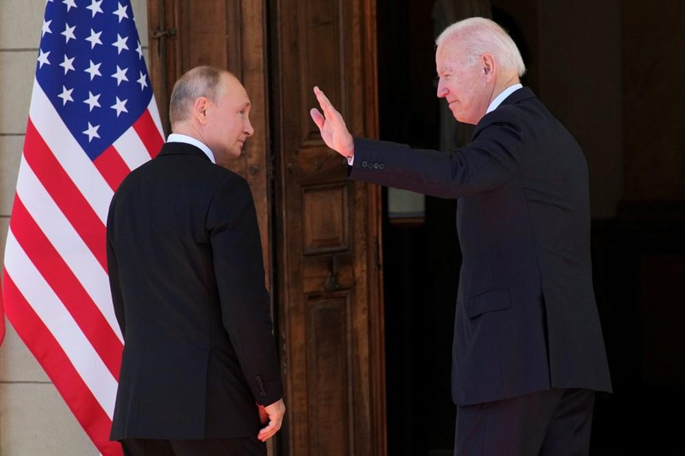 ABD Başkanı Biden ve Rus Devlet Başkanı Putin'in görüşmesi başladı: Zirveden kareler - 6