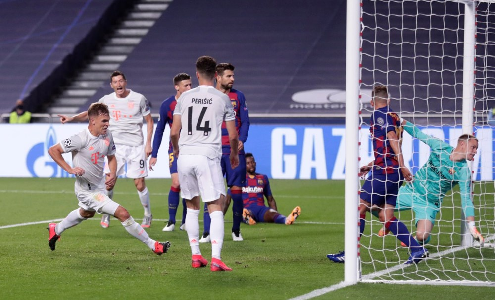 Bayern Münih'ten Barcelona'ya tarihi hezimet - 7