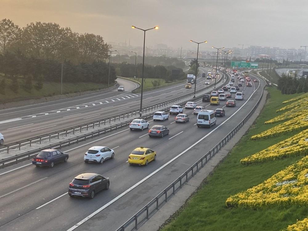 İstanbul'da, 'tam kapanma' öncesinde kaçış trafiği - 4