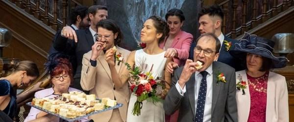 Sıra dışı düğün fotoğrafları