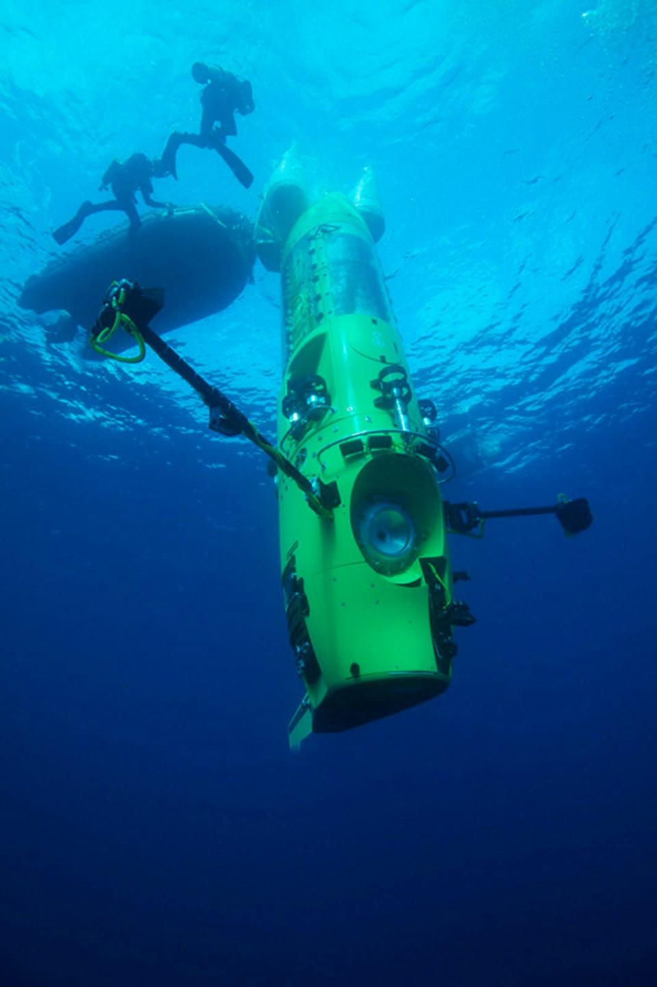 Deepsea Challenger.