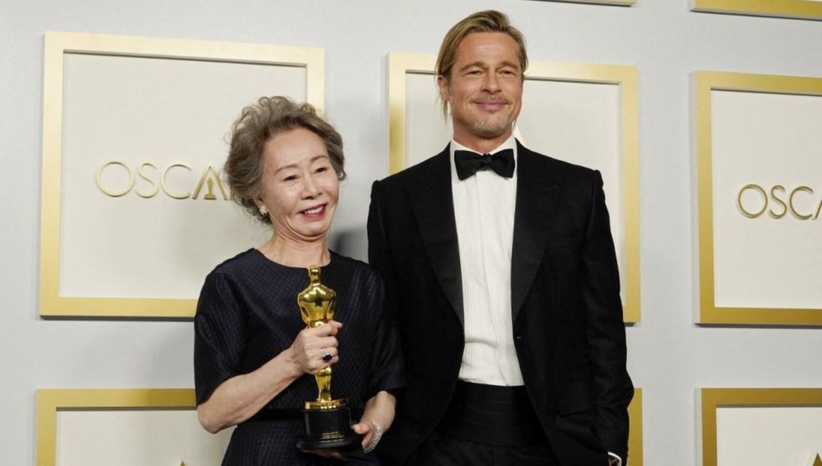 Oscar'lı oyuncu Youn Yuh-Jung: Brad Pitt söz verdi ama Amerikalıların sözlerine inanmam
