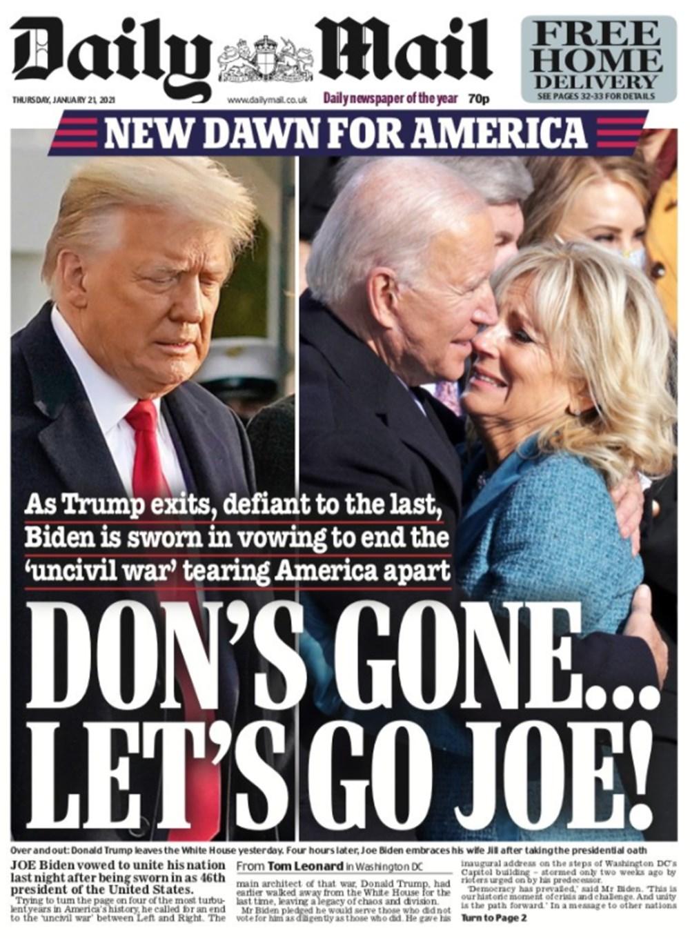 Dünya manşetlerinde Joe Biden: ABD'nin kurtuluşu - 3