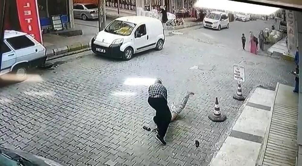 Şanlıurfa'da işyerinden su içen çocuğa sinirlenip yere çarptı - 2