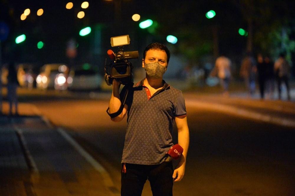 'Ben boksörüm' deyip gazetecinin burnunu kırdı - 14