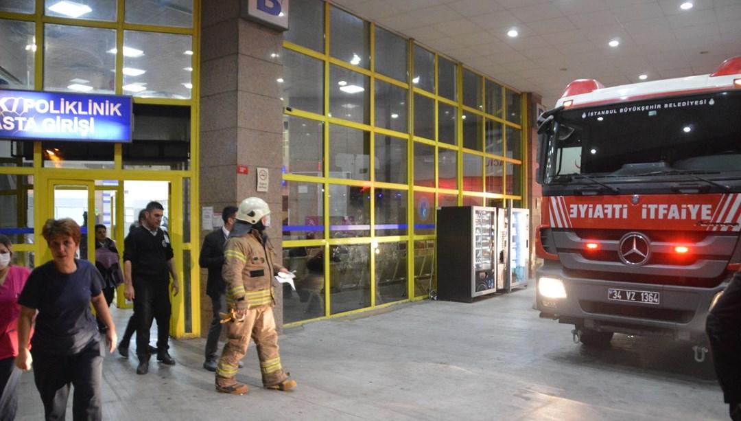 Bakırköy Dr. Sadi Konuk Eğitim ve Araştırma Hastanesi'nde yangın