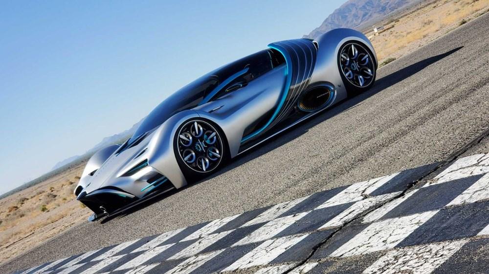 Hidrojen yakıtlı süper otomobil: Hyperion XP-1 - 11