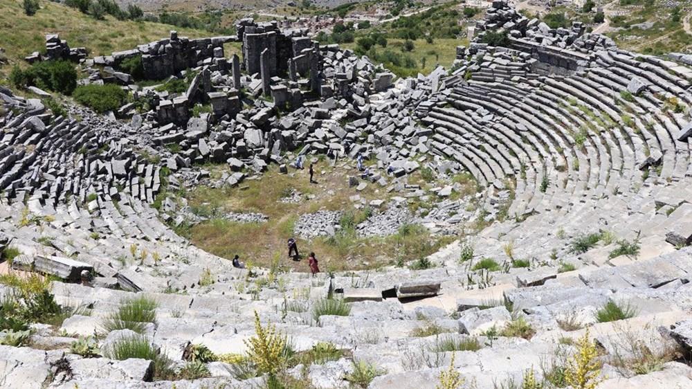 Burdur'unantik güzelliği: Sagalassos Antik Kenti - 3
