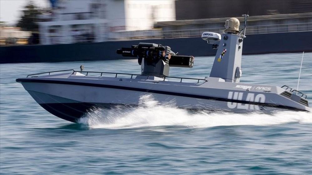 Türkiye'nin ilk silahlı insansız deniz aracı, füze atışlarına hazır - 1