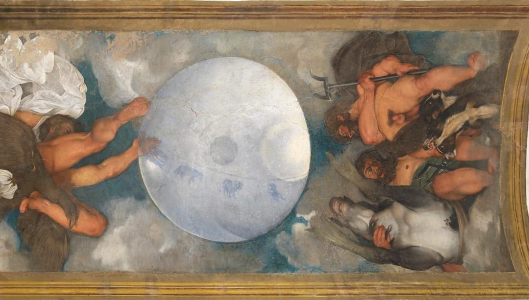 Ünlü ressam Caravaggio'nun tek tavan resmine sahip olan villa 547 milyon dolardan satışa çıktı