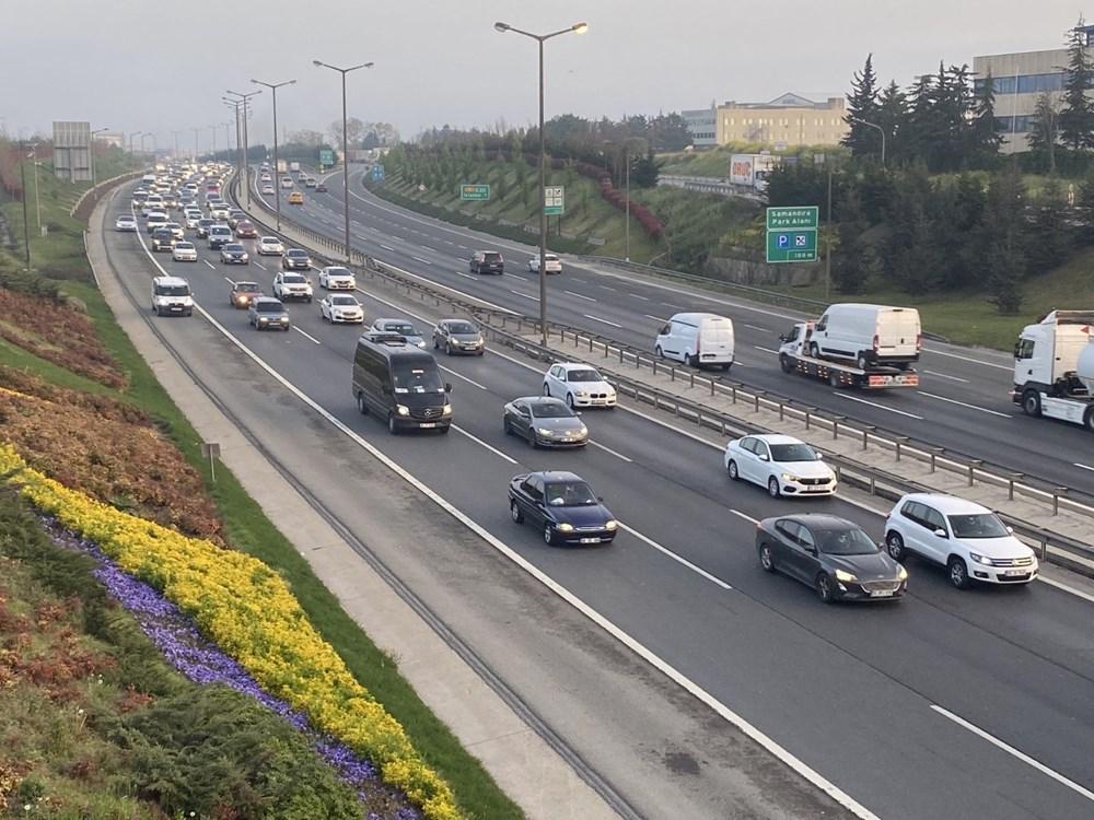 İstanbul'da, 'tam kapanma' öncesinde kaçış trafiği - 14