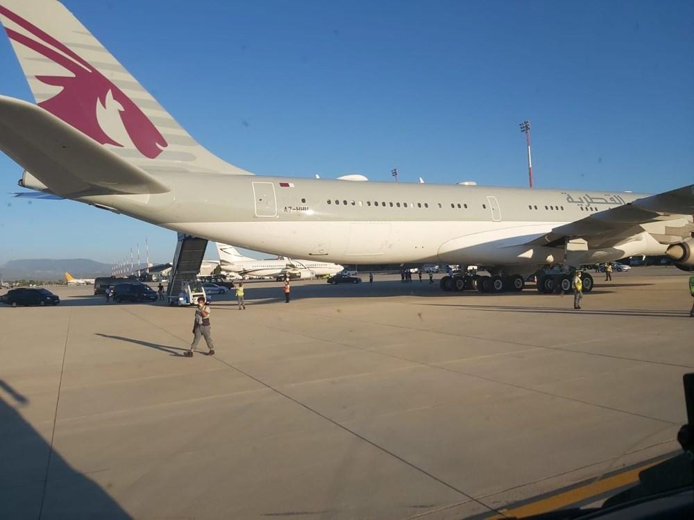 Katar kraliyet ailesi Bodrum'da: 2 kamyon eşya, 500 valiz - 18