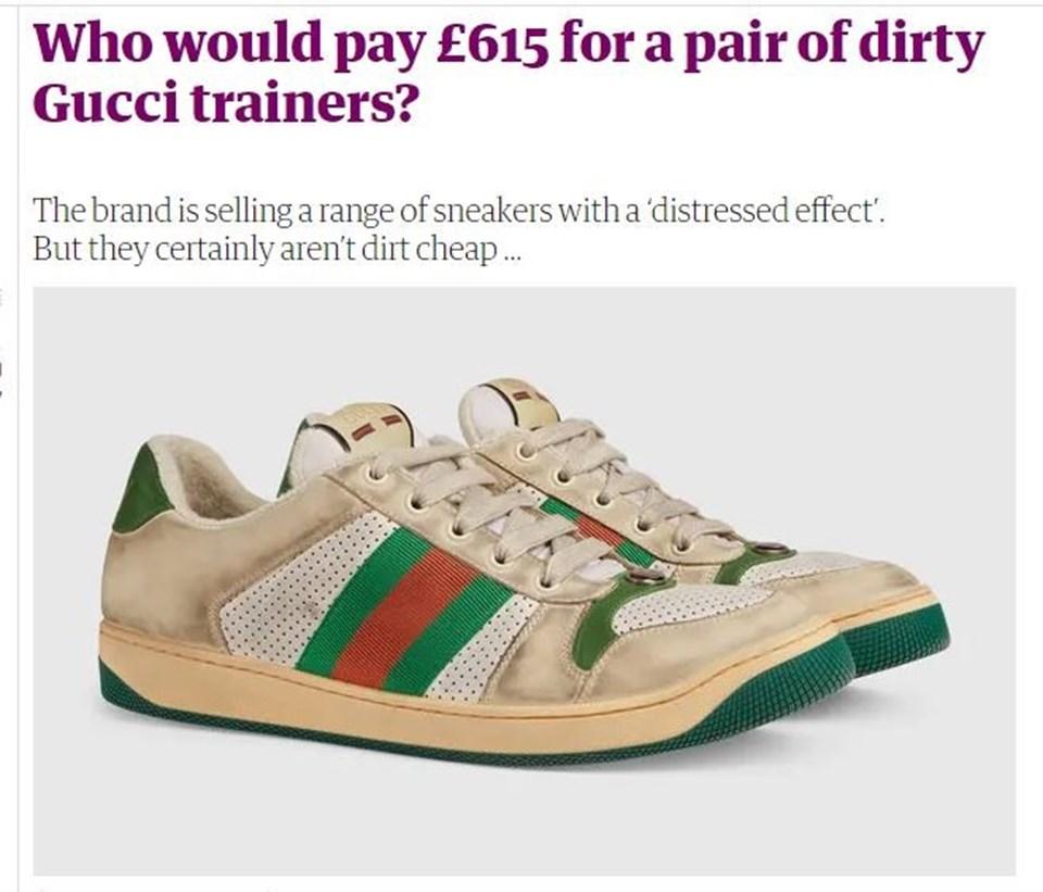 'Bu kirli ayakkabılara kim 615 Strelin ödeyecek?' haberi binlerce yorum aldı.