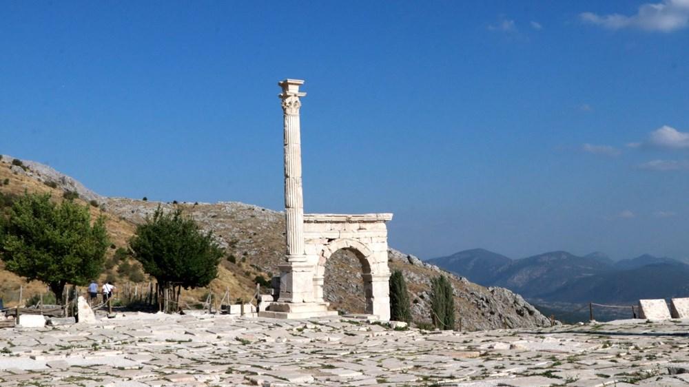 Sagalassos Antik Kenti'ne 25 bin ziyaretçi - 9