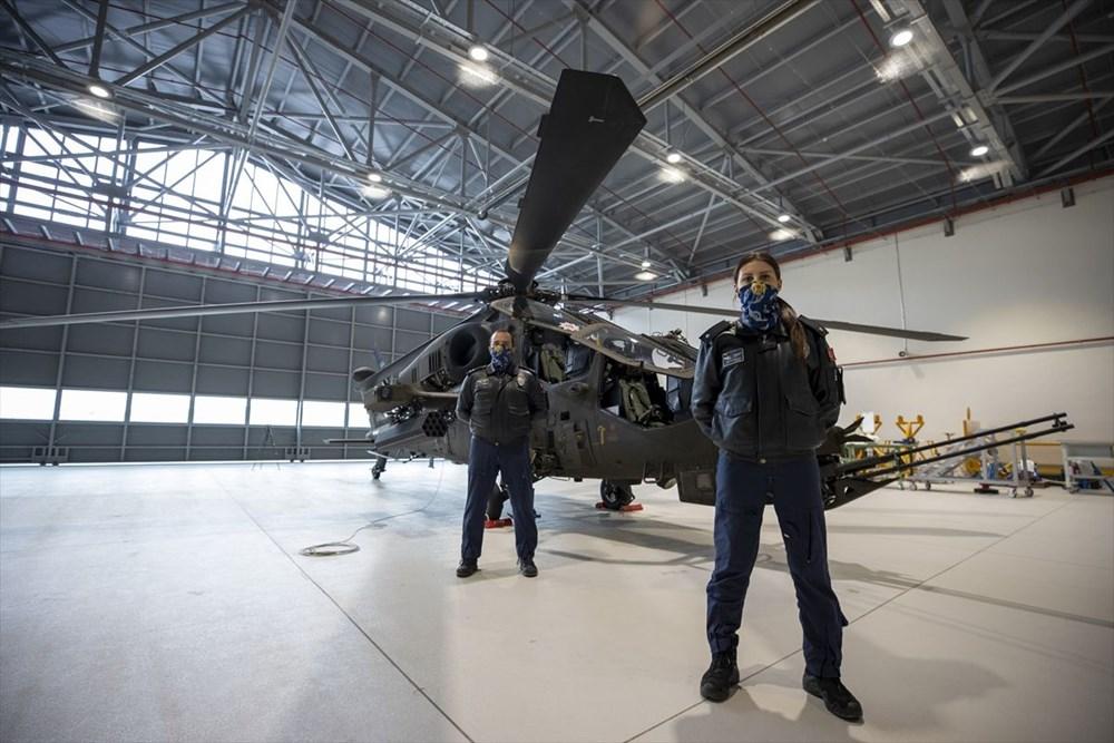 Türkiye'nin ilk kadın taarruz helikopter pilotu - 13
