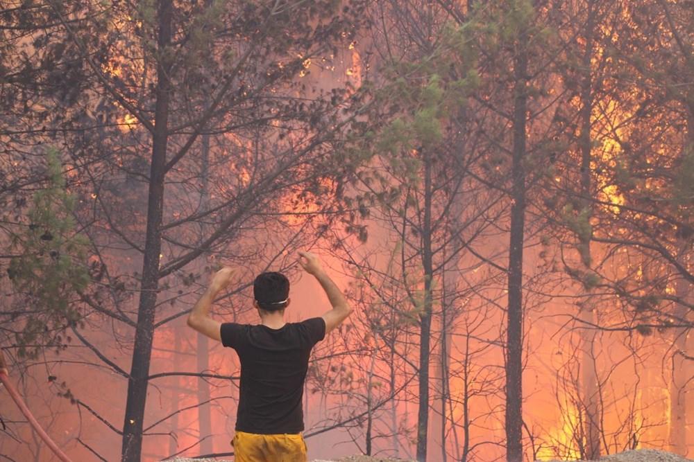 Adana'da orman yangını: 8 köy boşaltıldı - 13