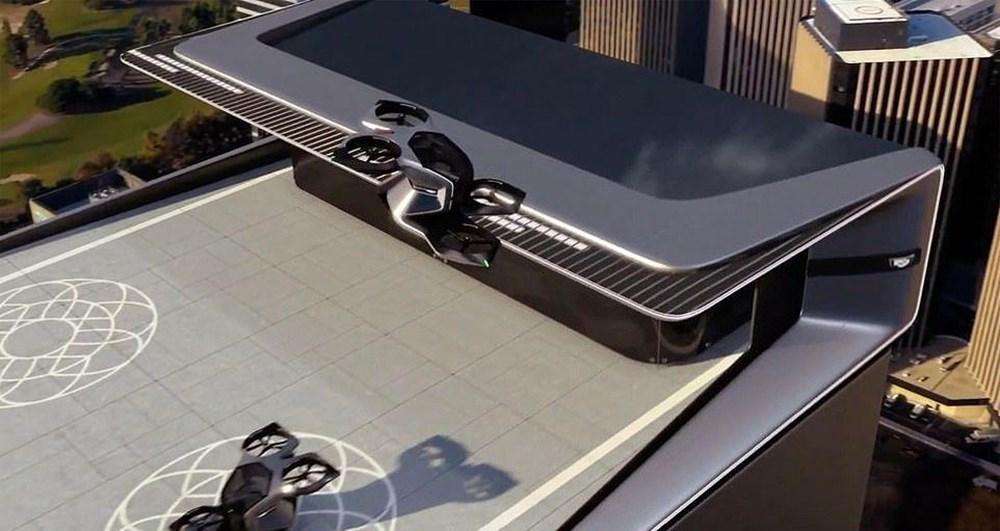 Cadillac sürücüsüz uçan otomobilini tanıttı - 4