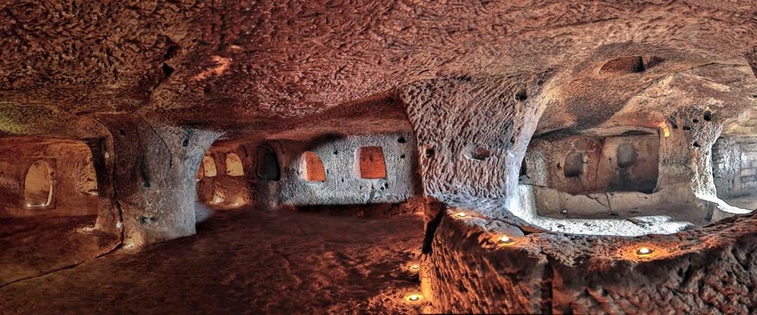Dünyanın en büyük yeraltı şehri Nevşehir'de hizmete açılıyor   NTV