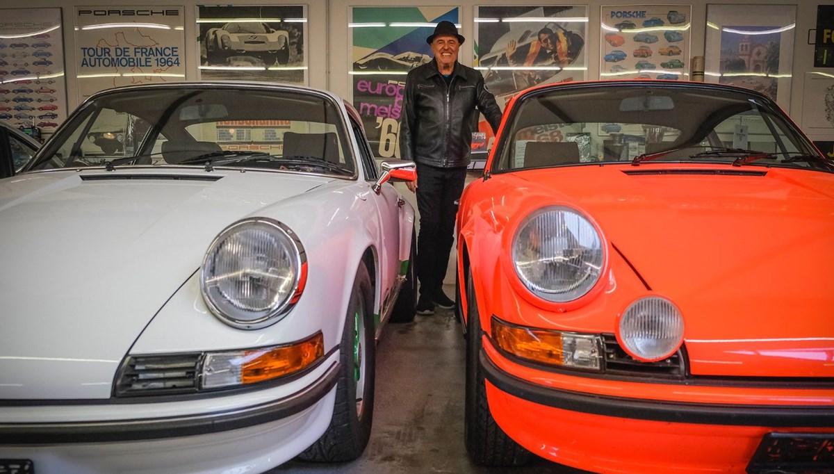 80'inci yaşında koleksiyonuna 80'inci Porsche'sini ekledi