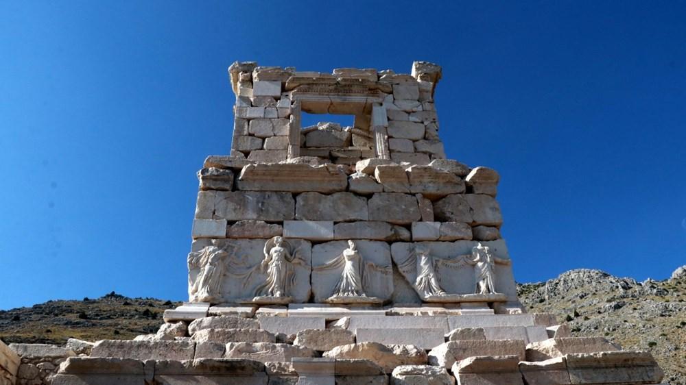 Sagalassos Antik Kenti'ne 25 bin ziyaretçi - 5