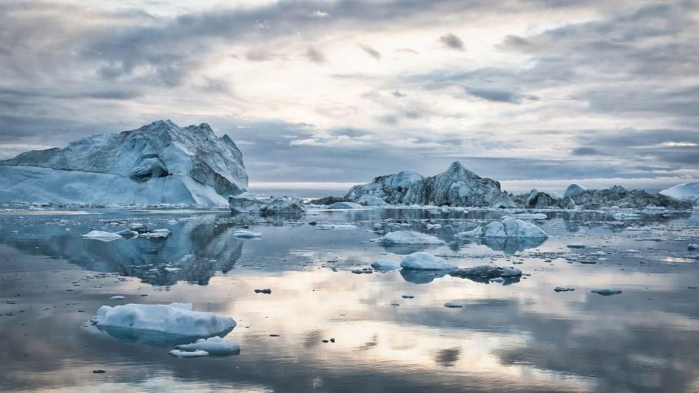 Grönland hızla eriyor: Son 2 günde 17 milyar ton buzul yok oldu - 7