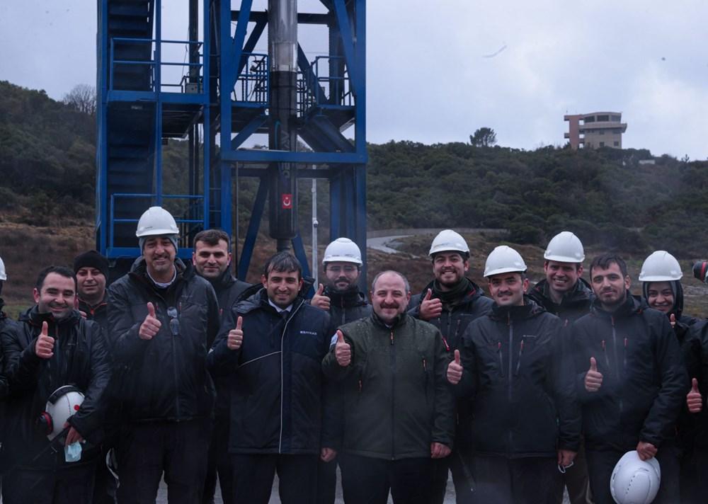 Milli Uzay Programı: Yerli roket motoru testi geçti - 28