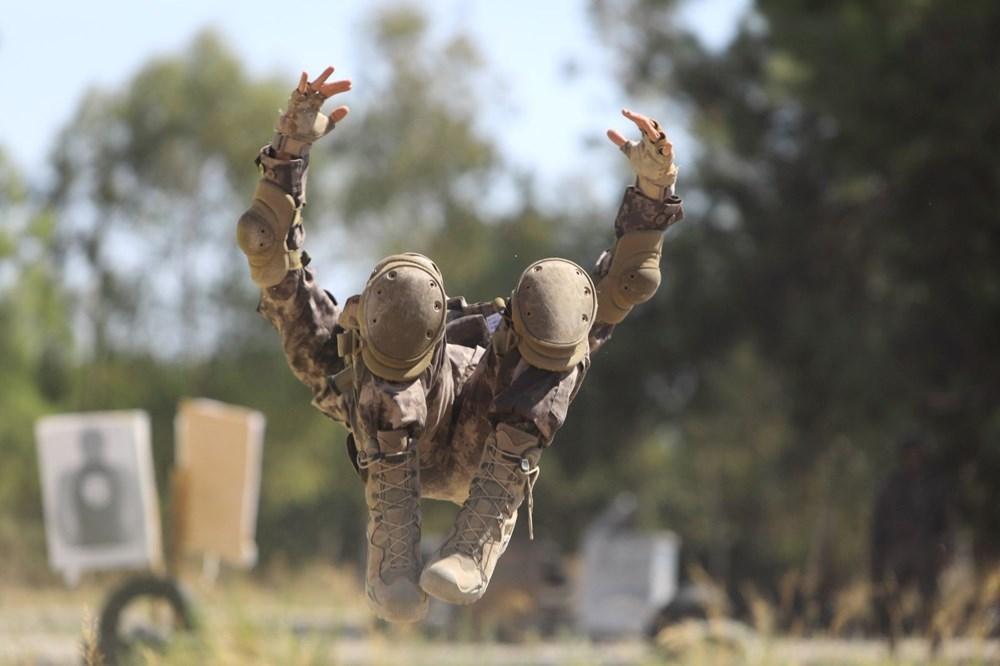 Özel Harekat'tan 35 derece sıcakta zorlu eğitim: Yerli silah 'Çılgın kız' dikkat çekti - 19