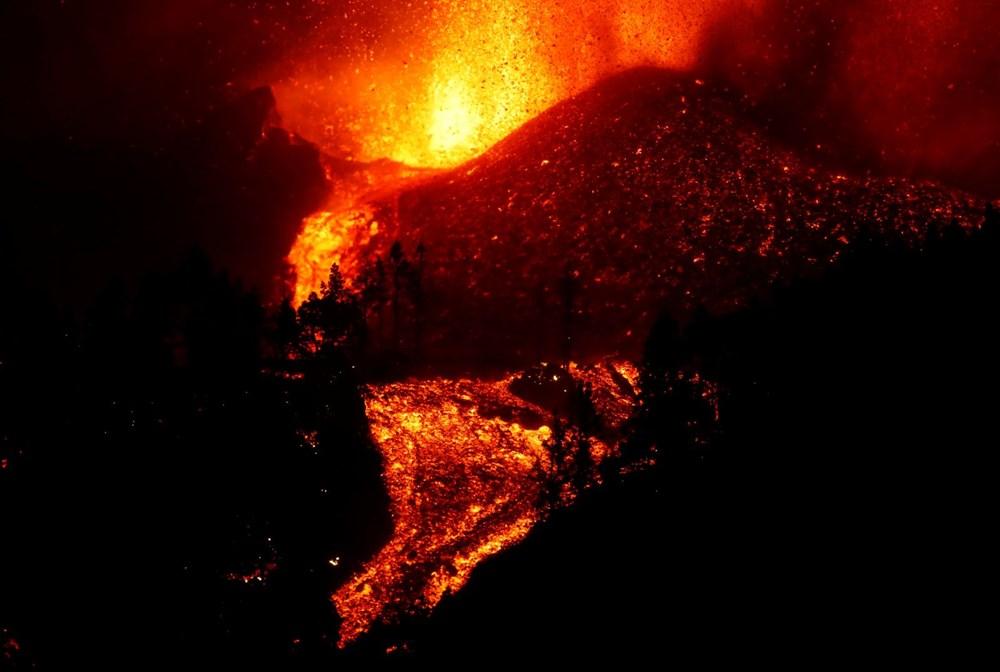 Kanarya Adaları'ndaki Cumbre Vieja yanardağı faaliyete geçti: 5 bin kişi tahliye ediliyor - 8