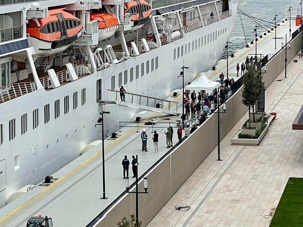 Galataport İstanbul'a ikinci yolcu gemisi demir attı - 2