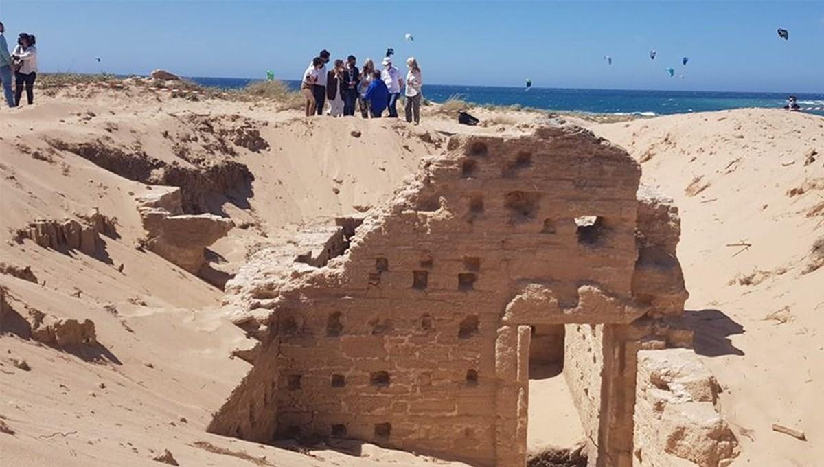 İspanya'da antik Roma hamamı ve mezarları keşfedildi
