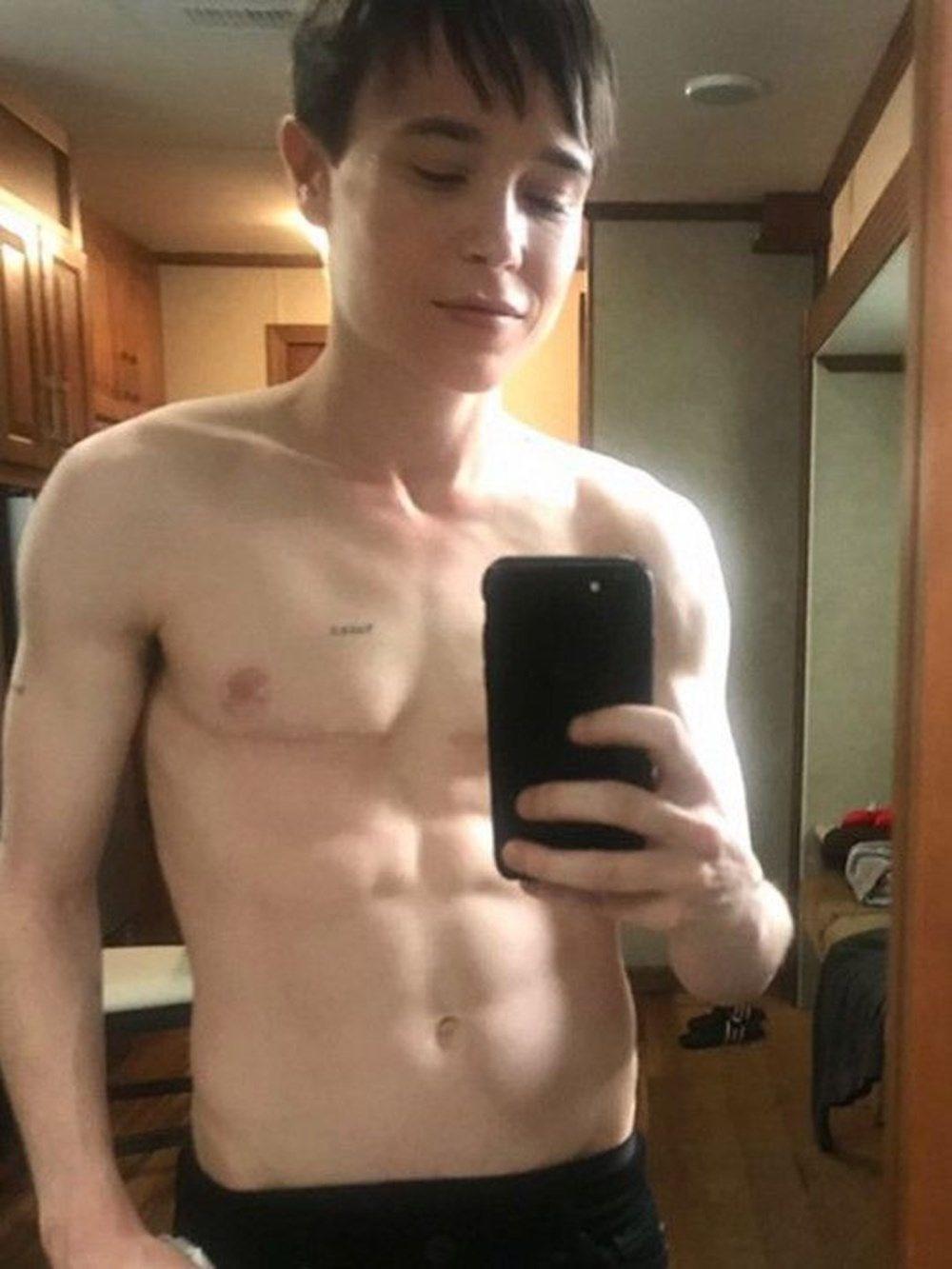 Trans olduğunu açıklayan oyuncu Elliot Page flört uygulamasında görüldü - 4