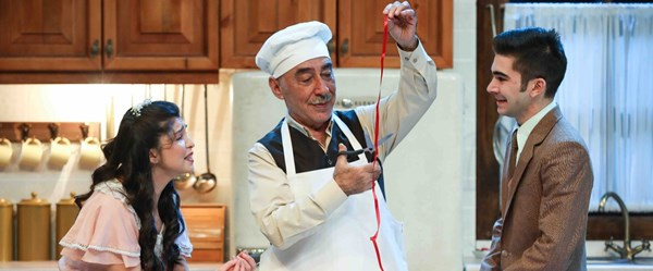 Zengin Mutfağı Harbiye Cemil Topuzlu Açıkhava Tiyatrosu'nda