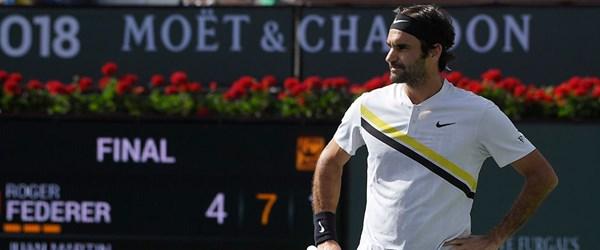 Federer ilk kez yenildi