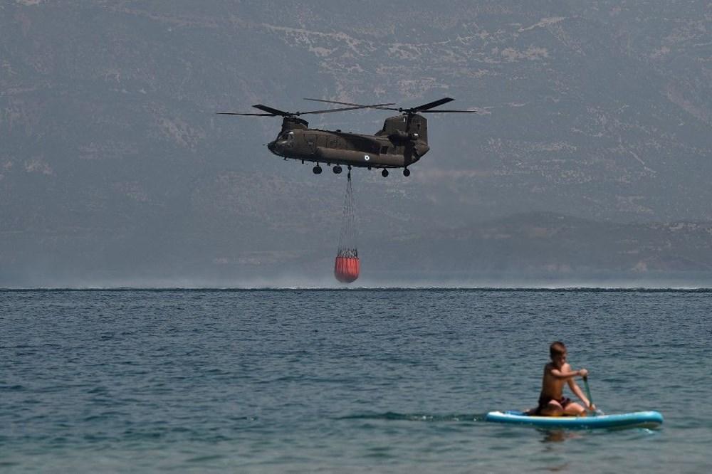 Akdeniz alev aldı: Yunanistan ve İtalya'da orman yangınları sürüyor - 10