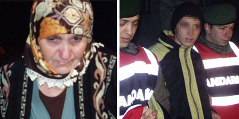 Sebahat Şen ve oğlu tutuklandı.