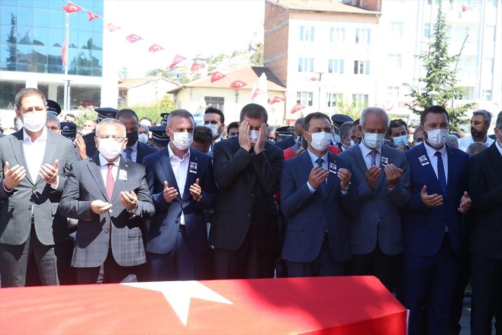 Martir Muammer Yiğit mengucapkan selamat tinggal pada perjalanan terakhirnya di Tokat - 10